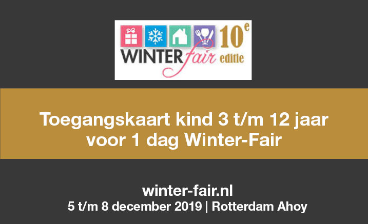 Toegnagskaart Winter-Fair kind