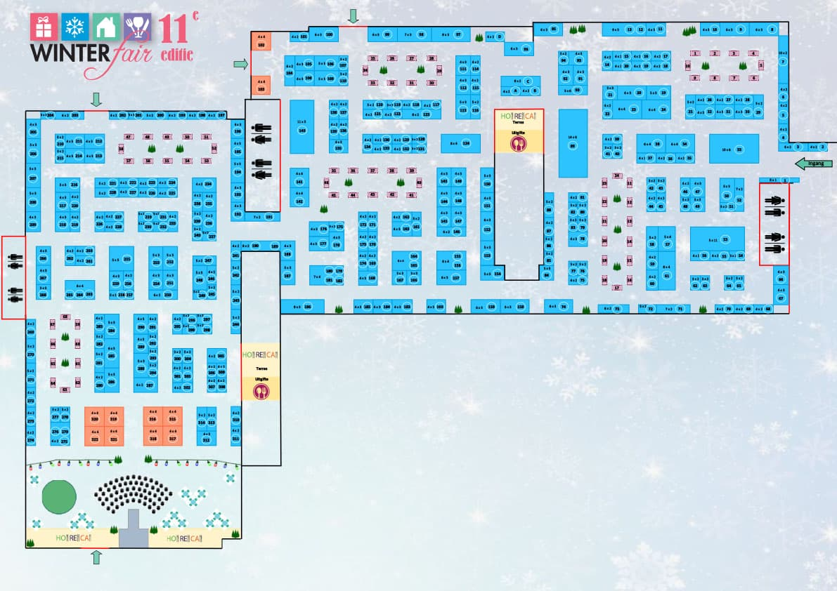 plattegrond winter-fair 2021